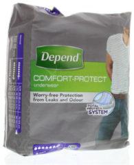 Depend Pants Incontinentiebroekjes voor mannen Normal - maat L/XL - 9 stuks