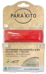 Parakito Armband rood 1 Stuks
