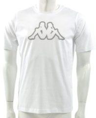 Witte Kappa - T-shirt Logo Cromen - Heren - maat L