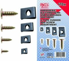 Carosseriemoeren/ speednuts assortiment, 170 delig, BGS 8114