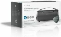 Zwarte Nedis Party Boombox | 6 Hours Playtime | Bluetooth® | TWS | Carrying Strap | Black