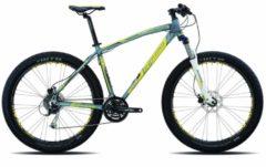 27,5+ Mountainbike Legnano Duran 24 Gang Legnano matt-dunkelgrau-gelb