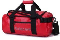 Decent Waterproof Weekendtas / Sporttas Facker Rood