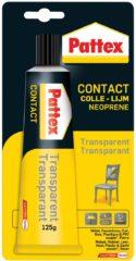 Pattex contactlijm Transparant, tube van 125 g, op blister