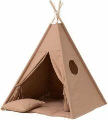 Bruine Wigiwama Tipi Tent / Speeltent Kinderkamer Clay - Speeltent voor Kinderen - Kindertent - Indianentent - Wigwam 100x100x120cm