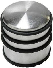 Roestvrijstalen Tooltech RVS Deurstopper - 7 cm - Antislip