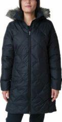 Columbia - Women's Icy Heights II Mid Length Down Jacket - Jas maat XS, wit/grijs/zwart/olijfgroen/zwart/olijfgroen/rood/zwart/olijfgroe