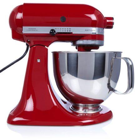 Afbeelding van Rode KitchenAid Keukenmachine Artisan 5KSM125PSEER, incl. extra accessoires ter waarde van ca. € 214,