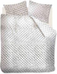 Witte At Home Glass - Dekbedovertrek - Tweepersoons - 200x200/220 cm + 2 kussenslopen 60x70 cm - White