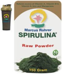 Marcus Rohrer Spirulina poeder doypack + shaker (150 gram)