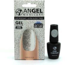 Zilveren W7 Angel Manicure Gel UV Nagellak - Show Stopper
