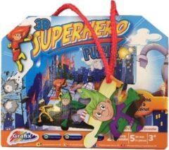 Grafix 3d-puzzel Superhero 25 Stukjes