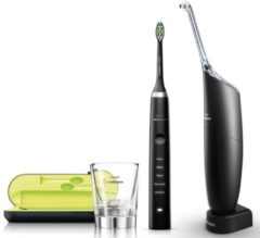 Philips Sonicare Zahnpflege-Set HX8491/03, DiamondClean & AirFloss Ultra, schwarz