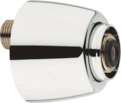 Grohe S koppeling met rozet afsluitbaar per stuk 1/2 x3/4 verstelbaarheid 125mm chroom 12051000