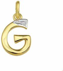 Transparante Huiscollectie Gouden Letter G - diamant