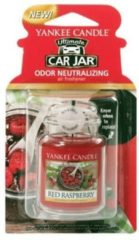 Paarse Yankee Candle Red Raspberry Car Jar Ultimate