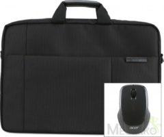 Acer 17.3'' Options Pack Care Gold notebooktas 43,9 cm (17.3'') Aktetas Zwart