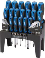 Draper Tools Schroevendraaier. inbus en bit set 44-dlg blauw 81294