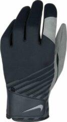 Grijze Nike Golf Winter Golfhandschoen - Sporthandschoenen - Heren - Zwart - M/L