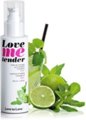 Love to Love Warming Massageolie Love me Tender Mojito - 100ml
