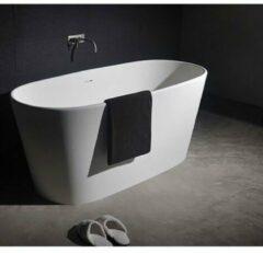 Ideavit Solidglam Vrijstaand bad 158x70cm ovaal Solid surface wit 278607
