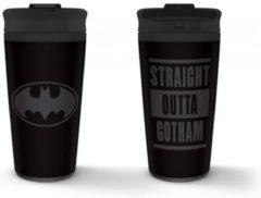 Pyramid International Batman - Straight Outta Gotham Metal Travel Mug