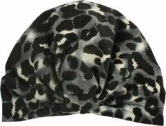 Babygifts4you Mutsje baby leopard/ luipaard grijs meisje