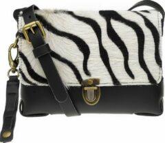 Elvy Bags Gloria Skin Crossbodytas - Zebra