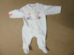 Pyjama gebroken wit poes , Noukie's voor meisje 1 maand56