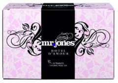 Mr Jones Hotel d amour rozen thee 20 Stuks