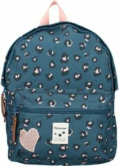 Kidzroom Attitude Backpack S blue backpack
