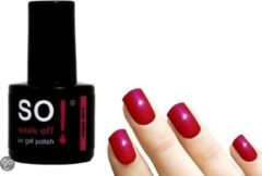 Roze So! Soak Off - Gel nagellak - Vegas Dare - 8ml