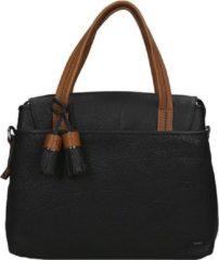 Zwarte Berba Chamonix Ladies Bag black Damestas