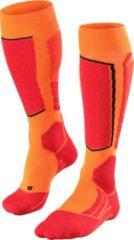 Oranje Merkloos / Sans marque FALKE SK2 Heren Skikousen - Flash Orange - Maat 46-48