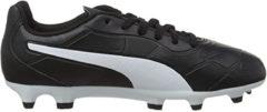 Puma voetbalschoenen KING Monarch junior PU zwart/wit mt 37