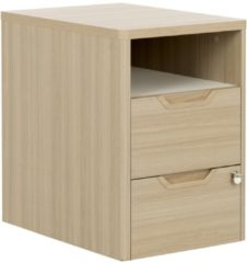 Gamillo Furniture Ladeblok Absolu 2 van 64 cm hoog in eiken