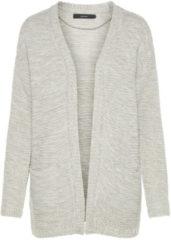 VERO MODA Long Knitted Cardigan Women Grey