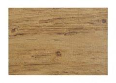 Merkloos / Sans marque Placemat in donkerbruin woodlook print 45 x 30 cm