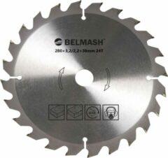 BELMASH zaagblad Ø280mm - as 30mm - 24T