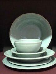 Groene Coté Table Constance 4 cereal bowls / mini pasta/salade borden (19cm) Sea Green