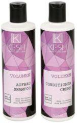 KESH Volumen 2er Set, Aufbaushampoo & Conditioner