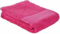Arowell Sporthanddoek Fitness Handdoek 130 x 30 cm - 500 Gram - Roze (1 stuks)
