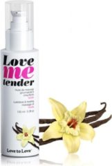 Love to Love Love me Tender verwarmende Massageolie - vanille