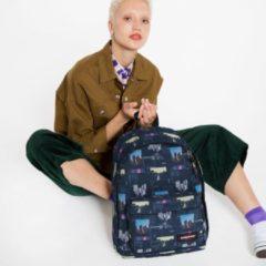 Blauwe Eastpak Out Of Office Rugzak shapes blue backpack
