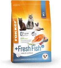 Fokker Cat Fresh Fish Zalm - Kattenvoer - 7 kg