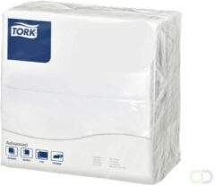 Servetten Tork 478746 Dinner 2laags 39x39cm wit 150st.