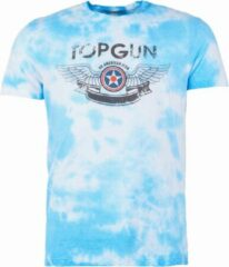 "Top Gun™ Top Gun ® T-shirt ""American Icon"" camouflage blauw"