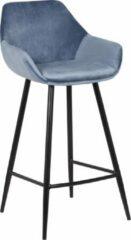 Blauwe Grab A Chair barstoel Bastiaan Jr – Air Force Blue