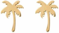 IXXXi Oorbellen Palm Tree Goud