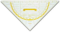 Witte Geodriehoek Aristo 80 cm voor schoolbord AR-1552W
